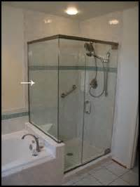 shower door with return panel shower door glossary shower door experts