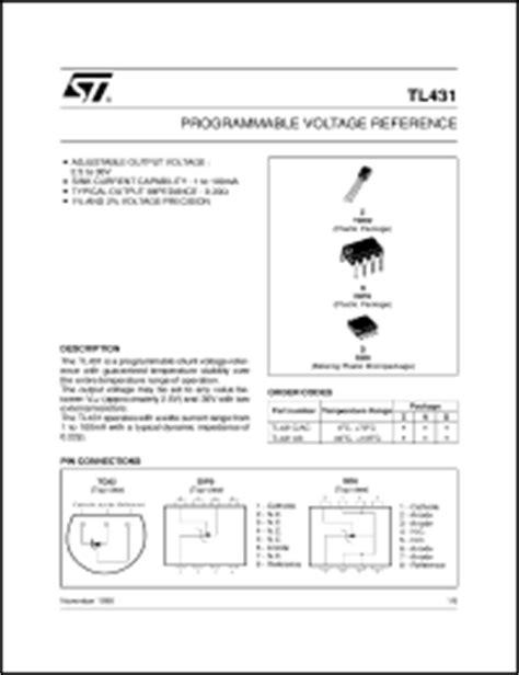 transistor tl431 datasheet sgs thomson microelectronics tl431 series datasheets tl431ain tl431aid tl431iz tl431id