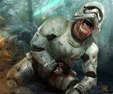 star wars stormtrooper battle damage hisstank com damaged stormtrooper by ace by nathan123qwe on