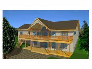 sloped lot house plans plan 012h 0025 find unique house plans home plans and