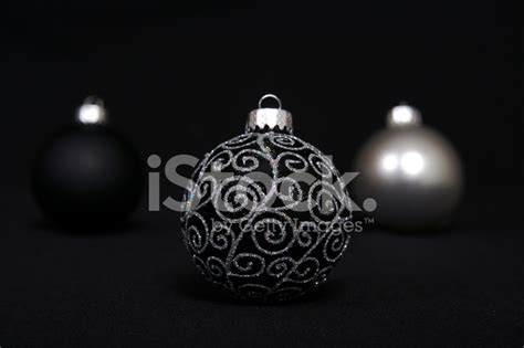 black and silver ornaments stock photos freeimages com