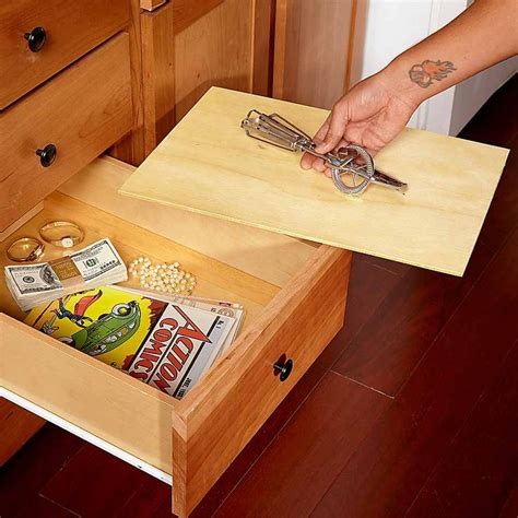 false bottom drawer best 25 secret hiding spots ideas on hiding