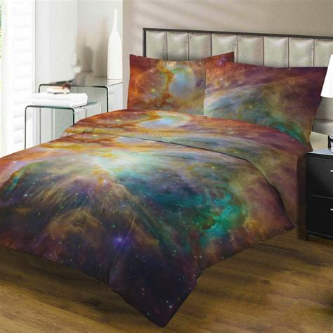 Bed Cover Set America Uk 120x200 3d american king size galaxy duvet cover