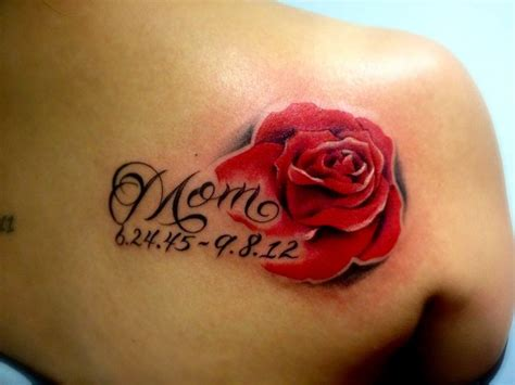 tattoos dedicated to mom dedicated to my is the color for