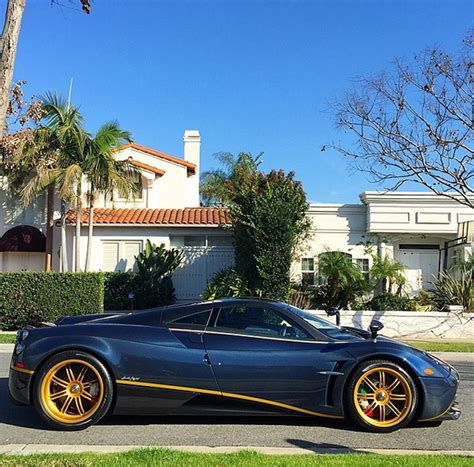 pagani huayra gold one off pagani huayra 730 s delivered to new owner