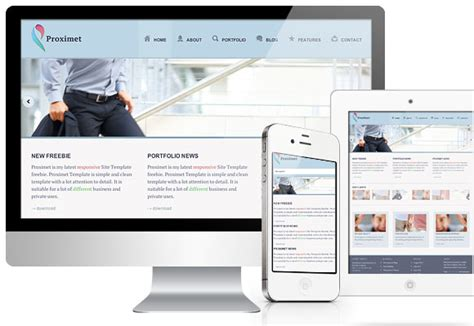 responsive design templates 20 newest free html and css website templates with