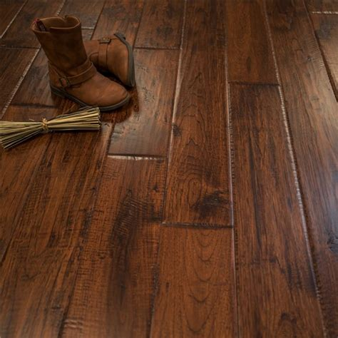 discount 5 quot x 3 4 quot hickory character prefinished solid canyon crest hardwood flooring by hurst