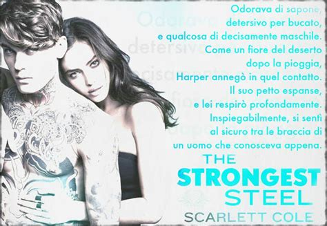 libro harper and the scarlet the strongest steel di scarlett cole la serie second circle tattoo in italia