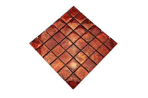 fliese orange glasmosaik fliesen orange metallic gm4840 mosaic outlet