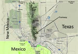 Wyler aerial tramway and the franklin mountains of west texas