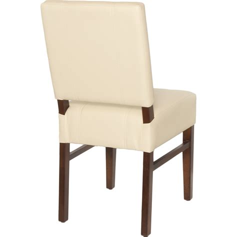 Square Chairs by Chairs Wood Upholstered Square Pullover Back Chair