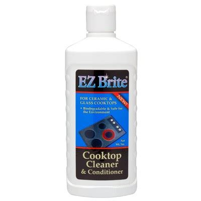 glass cooktop cleaner ez brite glass ceramic cooktop cleaner conditioner ebay