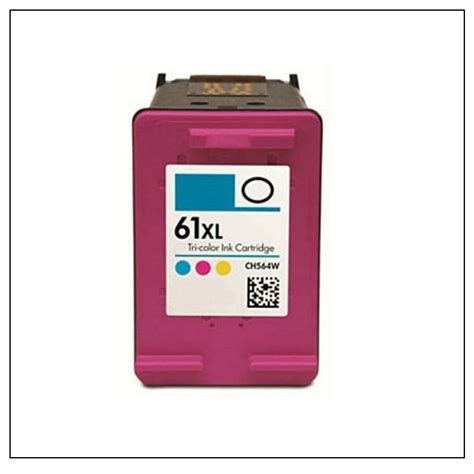 hp 61 tri color ink cartridge hp compatible 61xl tri color ink cartridge ch564wn