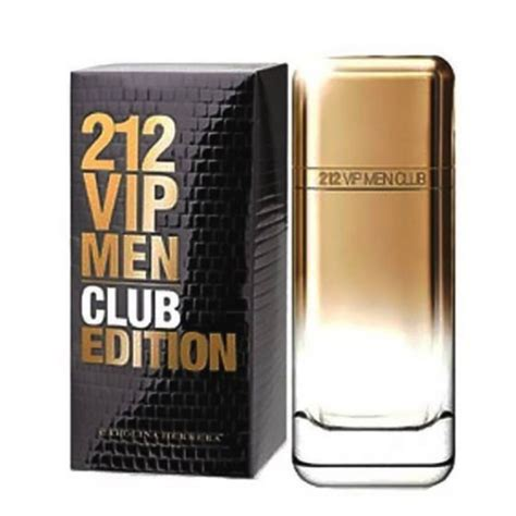 212 Vip By Carolina Herera Edt 100ml carolina herrera 212 vip club edition edt 100ml
