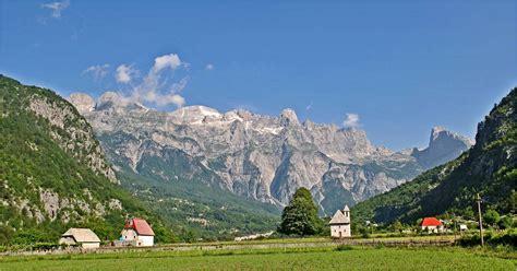 peaks   balkans municipality  peja albania