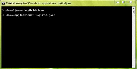layout java applet grid layout in java using applet programming wala