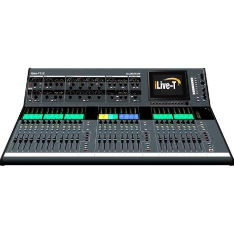 Mixer Allen Heath Ilive T112 allen heath ilive t112 ponsonby sound hire