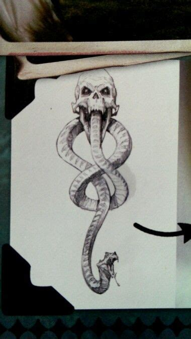 harry potter death eater tattoo variant to the i like the style left