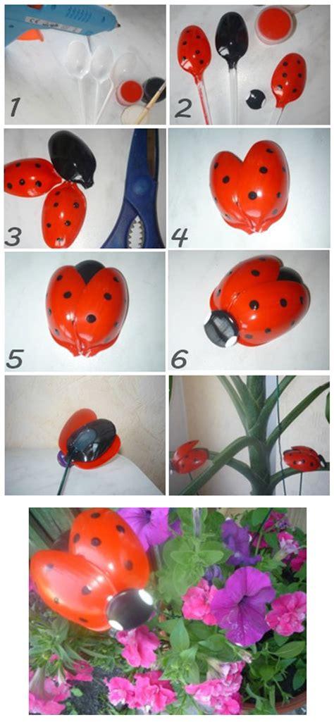 fiori con cucchiaini di plastica lavoretti con cucchiai di plastica baby flash