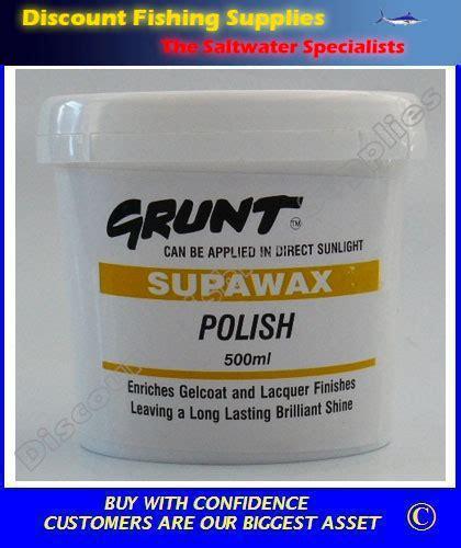boat wax nz grunt supawax polish 500ml tenob boating gear