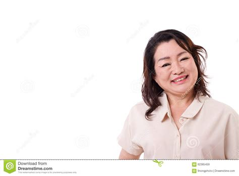 japanese middle age women happy middle aged asian woman stock image image of