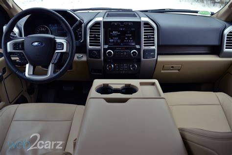 2015 Ford F150 Interior by 2015 Ford F 150 4x4 Lariat Review Web2carz