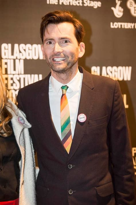 david tennant paisley david tennant spotted at glasgow film festival with badge