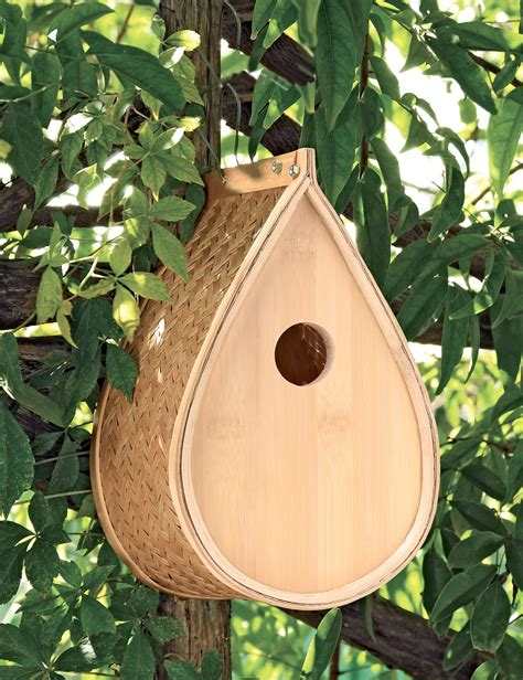 finch bird houses woven bamboo birdhouse for finches titmice nuthatches