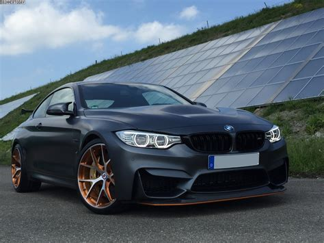 bmw m4 tuning bmw m4 gts tuning hre felgen in brushed copper