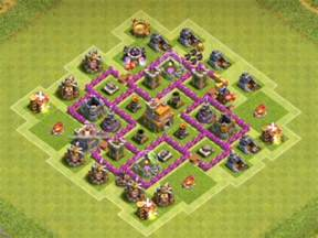 coc strong base structures for lvl6 townhall 6 best th6 trophy bases anti everything 2016 2 air
