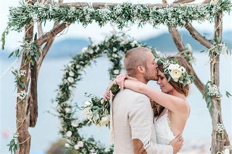 Strand Deko Hochzeit by Heiraten Am Strand Boho Hochzeit Auf Ibiza