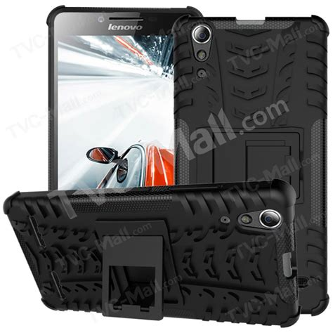 Tpu Anti Hry Lenovo A6000 A6000 Plus A6010 pc tpu phone cover for lenovo a6000 a6000 plus with kickstand black tvc mall