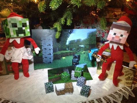 elf on the shelf minecraft santa printable 1940 best images about elf on the shelf on pinterest
