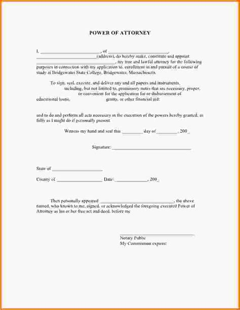 blank power of attorney form durable free alabama durable