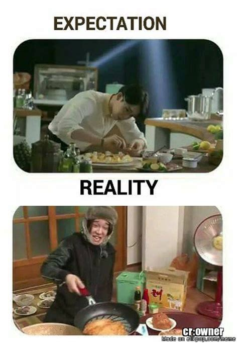 Expectation Vs Reality Meme - expectation vs reality allkpop meme center