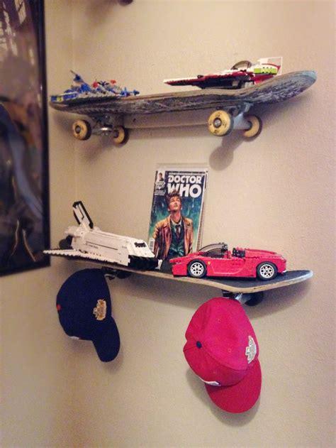 Skateboard Shelf Diy by Diy Upcycled Skateboard Shelves Busy Being