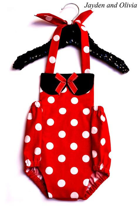 Romper Polka Minnie 1000 images about baby rompers on miami