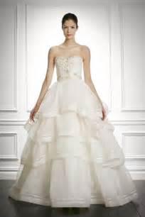 carolina herrera wedding dresses sweet carolina herrera 9 sophisticated new wedding dresses from bridal market onewed
