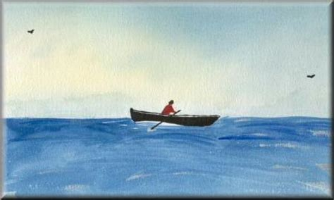 sculling boat painting rowing boat a watercolour painting by john w johnston