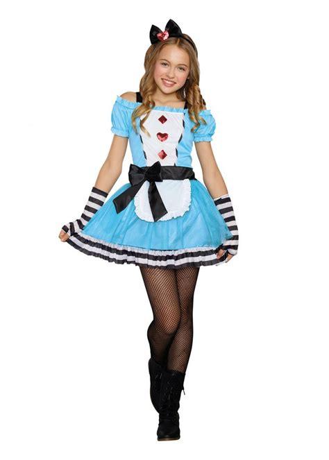 tween costumes purecostumescom miss wonderland tween costume movie costumes