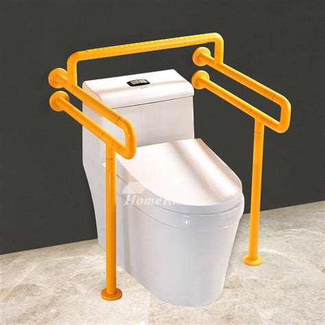 floor mounted grab bars for bathrooms handicap toilet grab bars floor mounted stainless steel