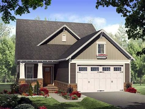 Garage House Plan by Bungalow House Plans With Porches Bungalow House Plans