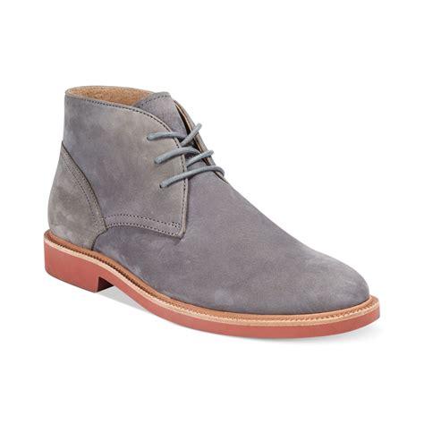 grey polo boots ralph polo torrington nt chukka boots in gray for