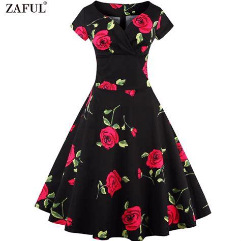 50 s swing zaful vintage 50s dress rockabilly swing retro