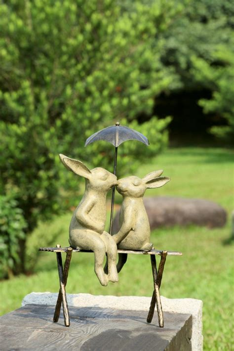 cute  funny animal garden statues