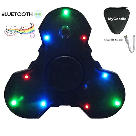 Fidget Spinner Bluetooth Audio Speaker Lu Fidget bluetooth speaker pendants jewelry secrets