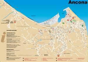 Ancona Italy Map by Ancona Tourist Map