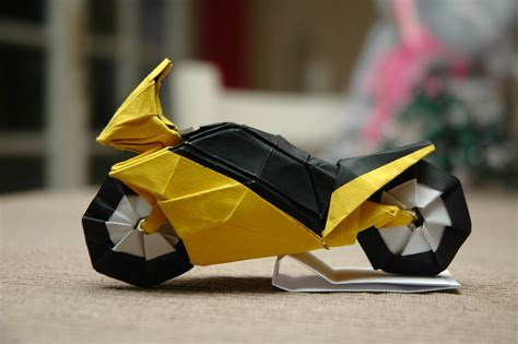Origami Race Car - i could harley wait to show you these origami vehicles