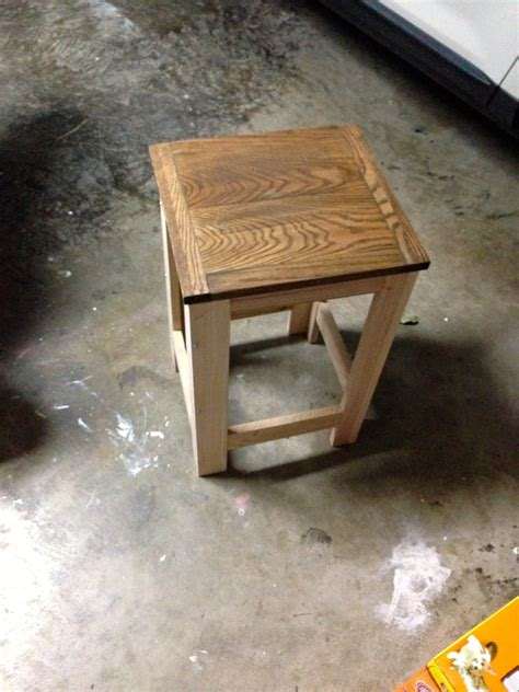 ana white garage stool diy projects