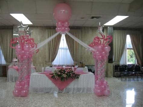 decoracion de salon para 15 años con telas y globos decoracion para una quinceanera lagranfiesta